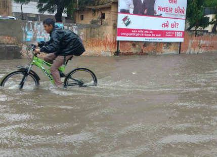 Heavy Ahmedabad rains to continue for another 24 hours