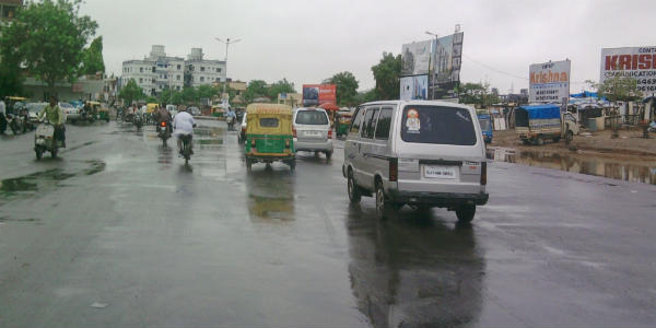 Ahmedabad records 109 mm in 24 hours, surpasses monthly mean