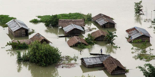 Half of Assam affected by flood, toll mounts to 22