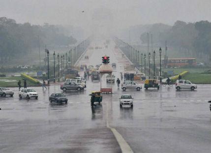 Delhi Rains-weather in Delhi