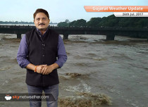 Gujarat Weather Update 26 July: Flood hit Gujarat to continue with heavy rains for 24 hrs