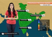 Monsoon Forecast for Jul 22, 2017: Heavy Monsoon rains in Mumbai, Gujarat, Konkan and Goa, Kerala