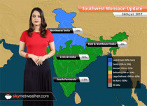 Monsoon Forecast for Jul 27, 2017: Heavy rains in Ranchi, Ahmedabad, Varanasi, Raipur