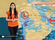 Weather Forecast for July 25: Heavy rain in Ahmedabad, Kolkata, Rajkot; floods to persist in Gujarat