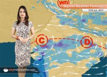 Weather Forecast for July 27: Heavy rain in Ahmedabad, Lucknow; light rain in Delhi, Mumbai