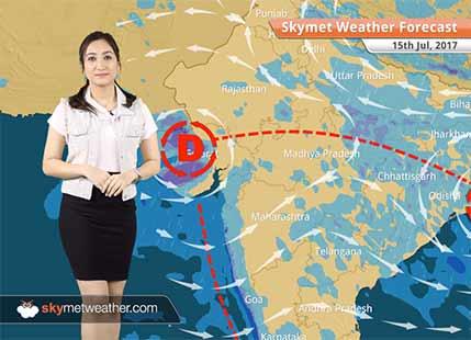 Weather Forecast for July 15: Heavy Rain in Mumbai, Ahmedabad, Surat, Ujjain, Bhopal;Dry weather in Delhi, Punjab