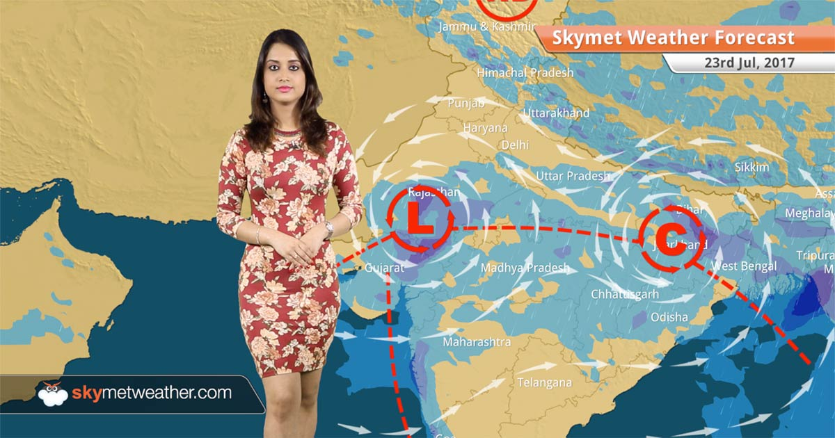 Weather Forecast For July 23 Rain In Lucknow Kolkata