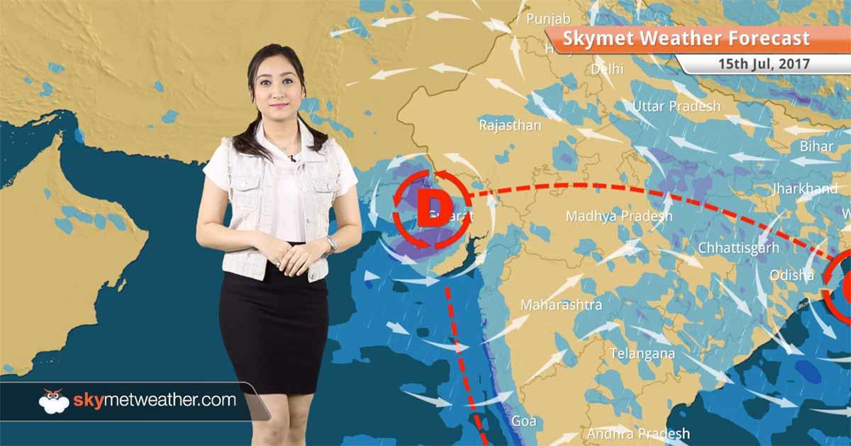 Weather Forecast for July 15: Heavy rain in Mumbai, Ahmedabad, Surat