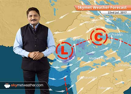 Weather Forecast for July 22: Good rain in Gujarat, Rajasthan, MP, Jharkhand