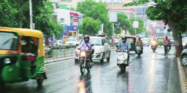 Rain in bhavnagar