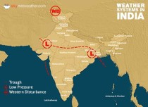 Weather Forecast for July 25 Across India