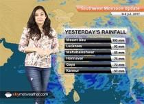 Monsoon Forecast for Jul 4, 2017: Monsoon rains in Kolkata, Rajasthan, Northeast