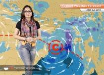 Weather Forecast for July 24: Heavy rain in Kolkata, Ahmedabad; floods to persist over Gujarat