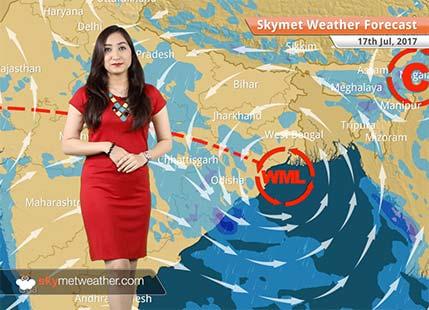 Weather Forecast for July 17: Rains in Gujarat, Mumbai, Goa, Coastal Karnataka