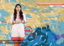 Weather Forecast for July 18: Flood in Odisha; Rain in Mumbai, Hyderabad