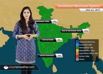 Monsoon Forecast for Jul 21, 2017: Monsoon rain in Delhi, Haryana, Punjab, Chhattisgarh, Uttarakhand