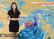 Weather Forecast for July 24: Heavy rain in Gujarat, Rajasthan, South Madhya Pradesh