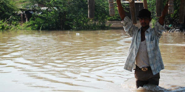 Red alert in flooded Barmer, Jalore, Pali
