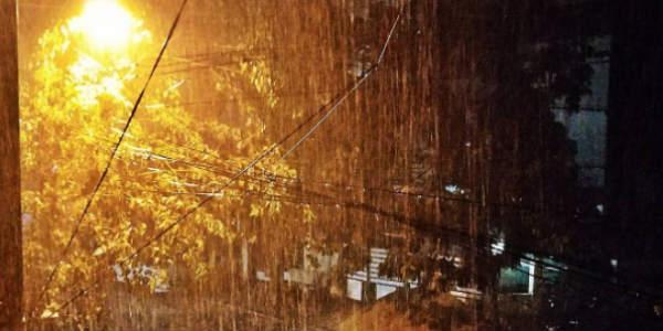 A rainy night for Chennai; heavy rains lash the capital city