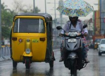 Scattered light rains in Chennai; heavy showers unlikely