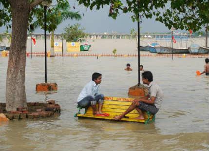 Flood in Uttar Pradesh