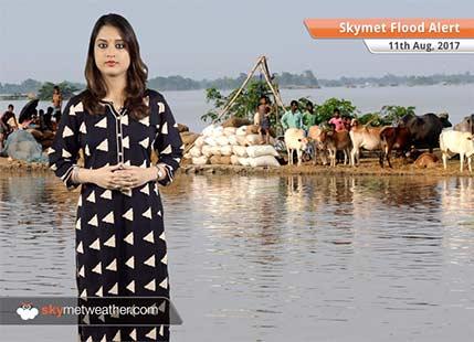 Heavy rains in Nepal, Flood alert issued in UP, Bihar, Assam