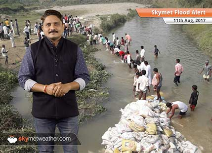 Torrential rains in Uttar Pradesh, Bihar, Assam; flood threat likely