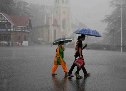 Shimla, Dharamsala, Nainital, Mukteshwar, Dehradun to witness good Monsoon showers