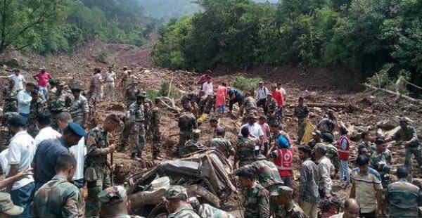 3 killed in landslide on Manali-Pathankot highway, rescue operations underway