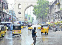 Good Monsoon rains in the offing for Hyderabad, Telangana
