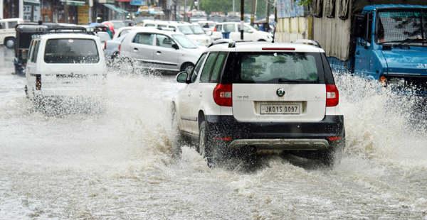 Jammu and Kashmir Heavy rain