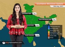 Monsoon Forecast for Aug 20, 2017: Rain in Delhi, Vidarbha, Madhya Pradesh, Uttarakhand