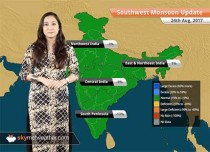 Monsoon Forecast for Aug 25, 2017: Rain in Madhya Pradesh, Uttar Pradesh, Vidarbha, Uttarakhand