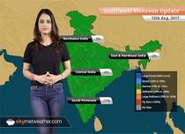 Monsoon Forecast for Aug 13, 2017: Heavy rain in Bihar, UP; floods in Assam to worsen