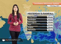 Monsoon Forecast for Aug 18, 2017: Rain in Odisha, Jharkhand, West Bengal