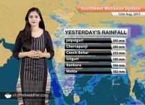 Monsoon Forecast for Aug 13, 2017: Bihar, UP, Himachal Pradesh, Assam to get more rains