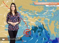 Weather Forecast for Aug 18: Heavy rain in Hyderabad, light showers in Bengaluru, Kolkata, Mumbai