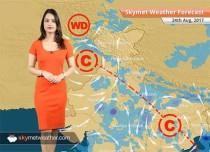 Weather Forecast for Aug 24: Mumbai, Chennai, Bengaluru, Delhi to see Monsoon rains