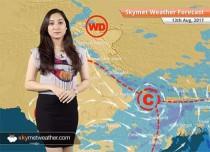 Weather Forecast for Aug 13: Rain in Mumbai, Punjab, Uttar Pradesh; Flood situation to worsen over Assam