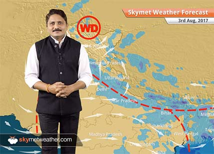 Weather Forecast for August 3: Good rains in Uttar Pradesh, Bihar, Uttarakhand, Punjab