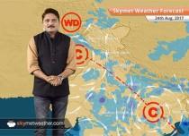 Weather Forecast for August 24: Rain in Uttarakhand, Madhya Pradesh, Jharkhand, Odisha