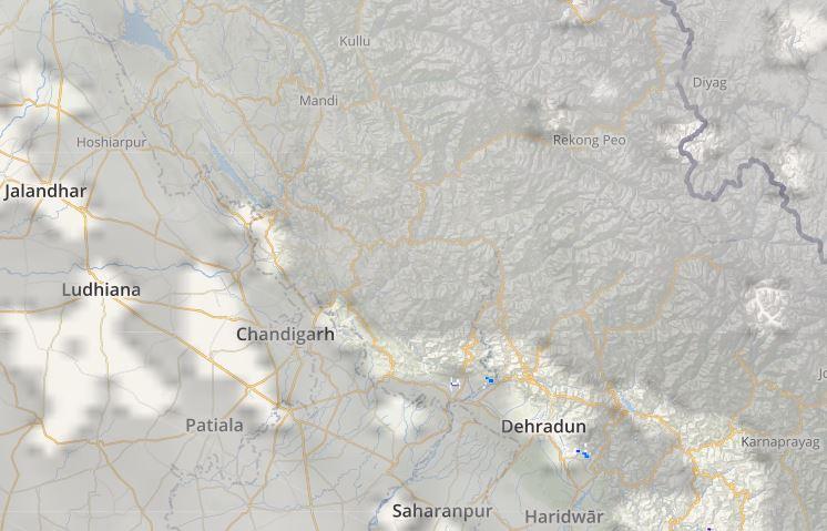 North India Lightning