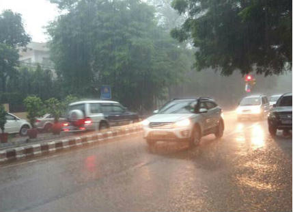 Rain in Delhi and NCR