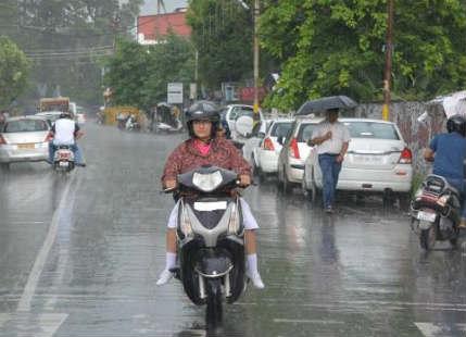 Rain in dehradun