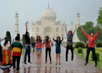 Taj-city agra weather