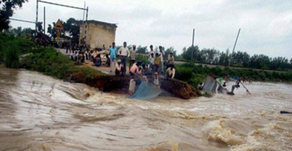 what is flood in hindi