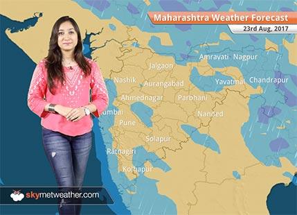 Maharashtra Weather Forecast for Aug 23: Good rains to subside over Pune, Mumbai, Nashik, Ratnagiri, Kolhapur