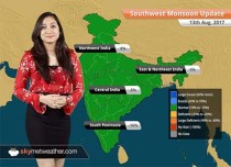 Monsoon Forecast for Aug 14, 2017: Rain in Bihar, Uttar Pradesh, Uttarakhand, Assam