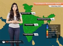 Monsoon Forecast for Aug 23, 2017: Rain in Gujarat, Chhattisgarh, Uttarakhand, Northeast