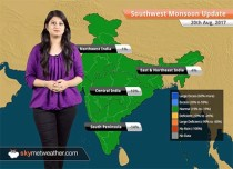 Monsoon Forecast for Aug 21, 2017: Rain in Maharashtra, Uttarakhand, Himachal Pradesh